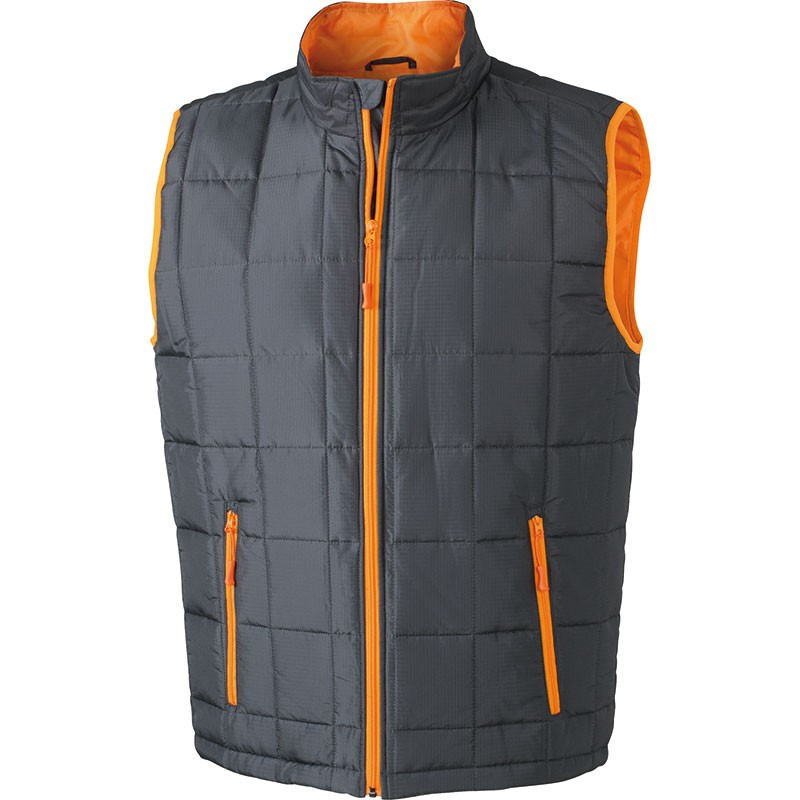 J&N men's light weight vest