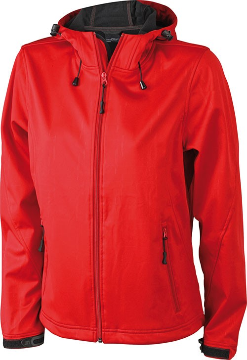 J&N ladies' softshell jacket