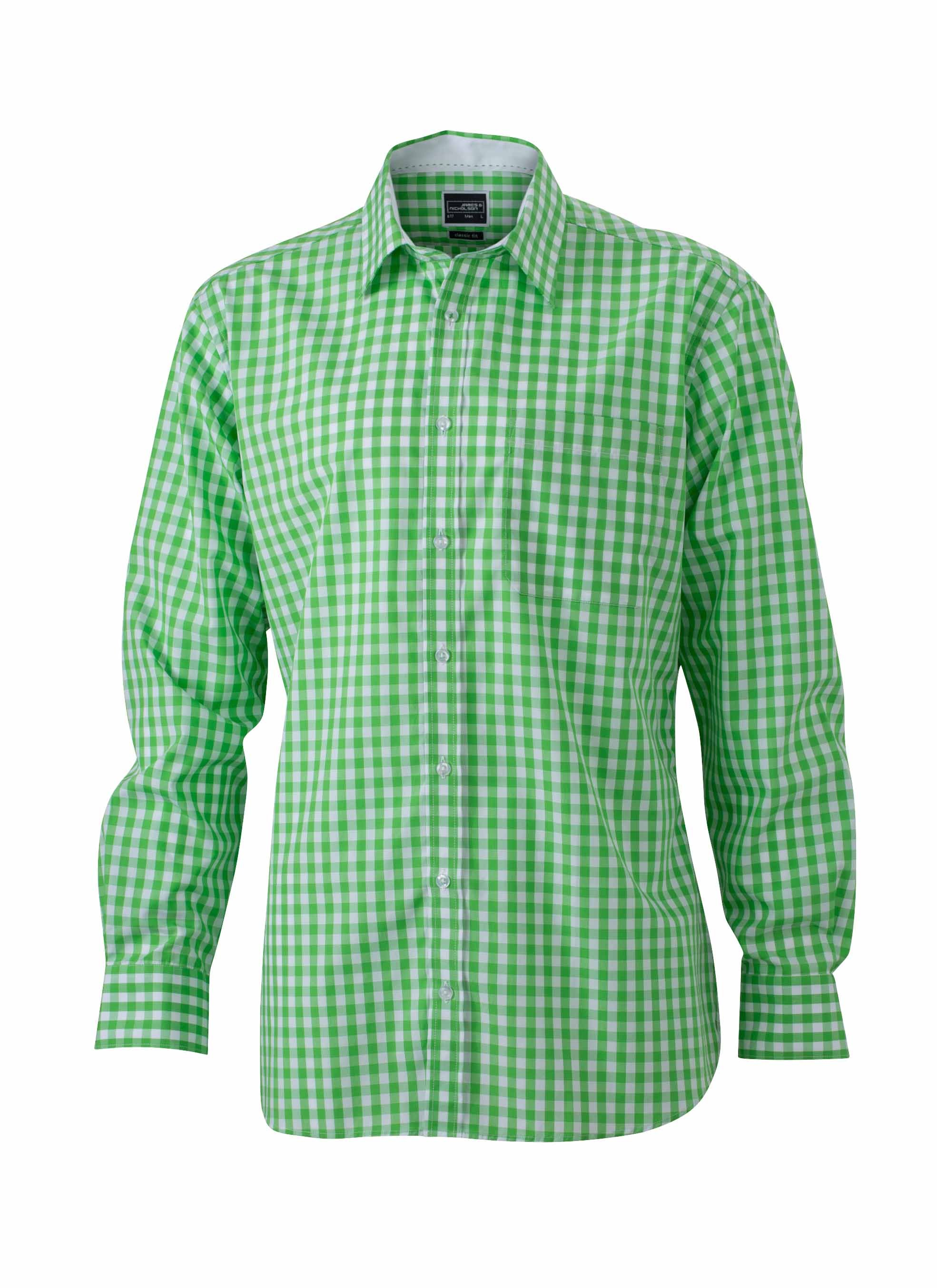 J&N men's checked shirt
