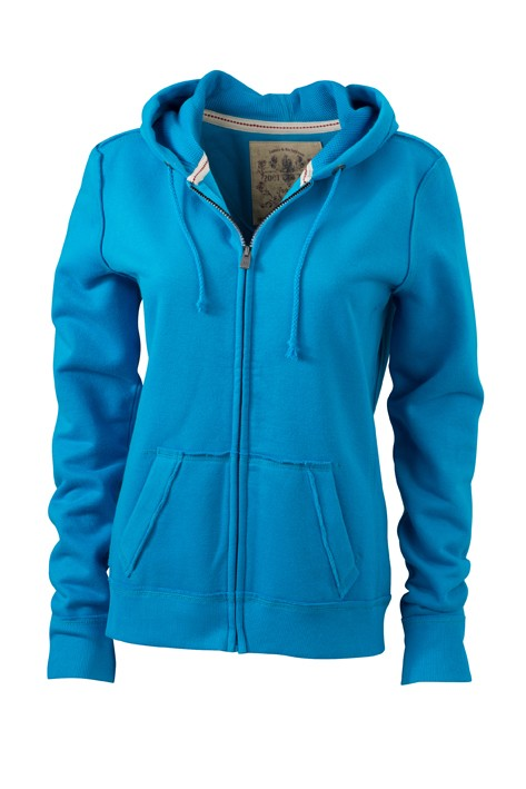 J&N ladies' Vintage Hoody