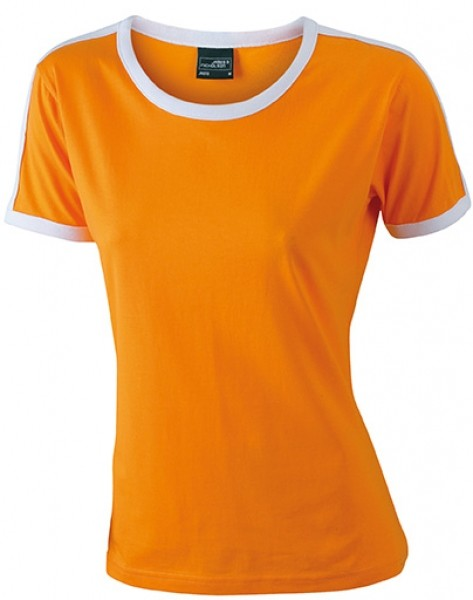 J&N dames t-shirt duo color