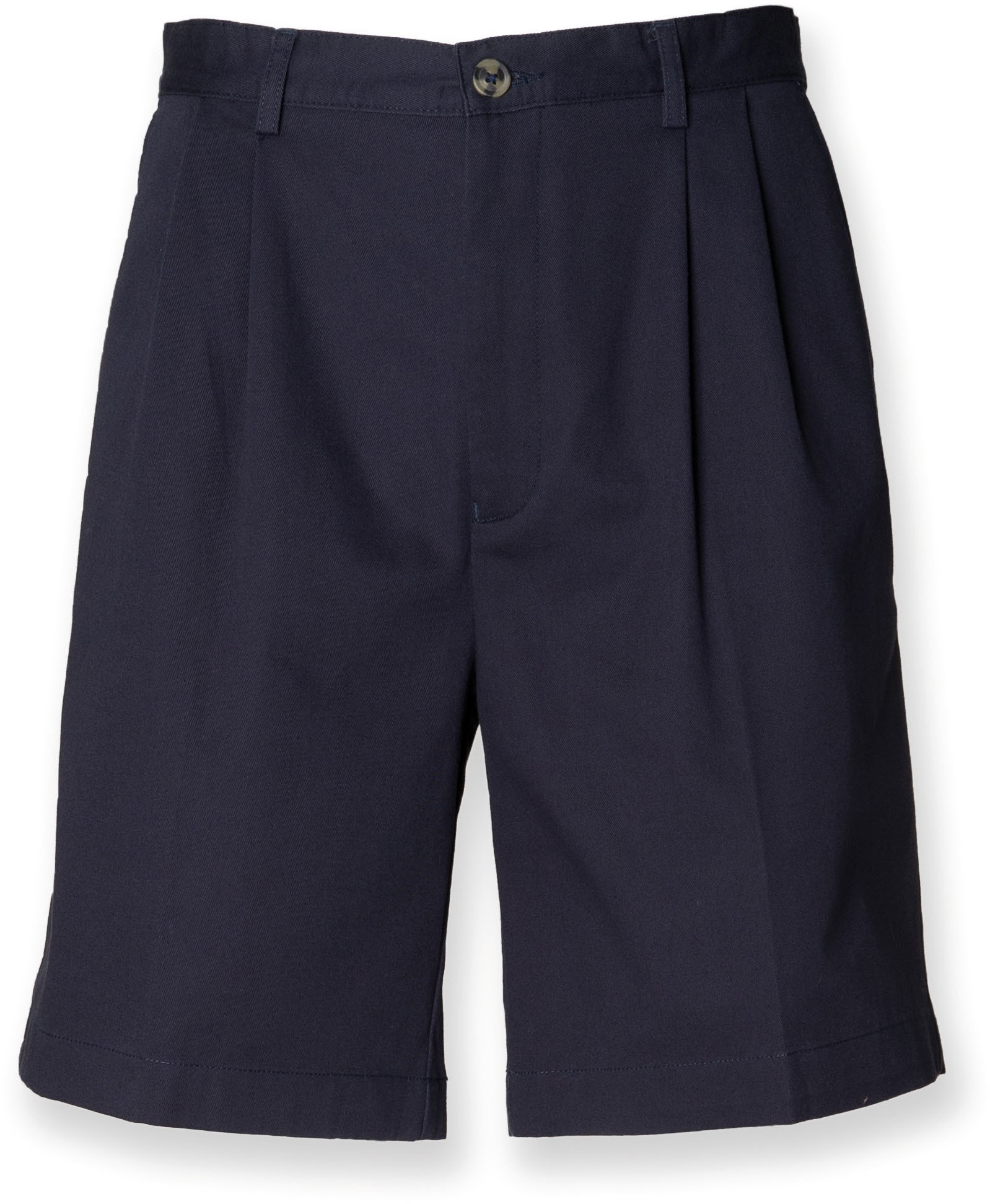Men's Pleat Front Chino Shorts