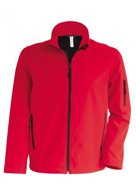 Kariban heren softshell jas