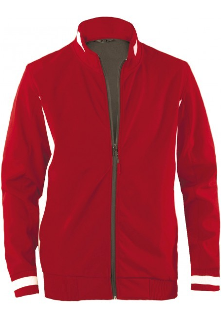 Bi color softshell jacket
