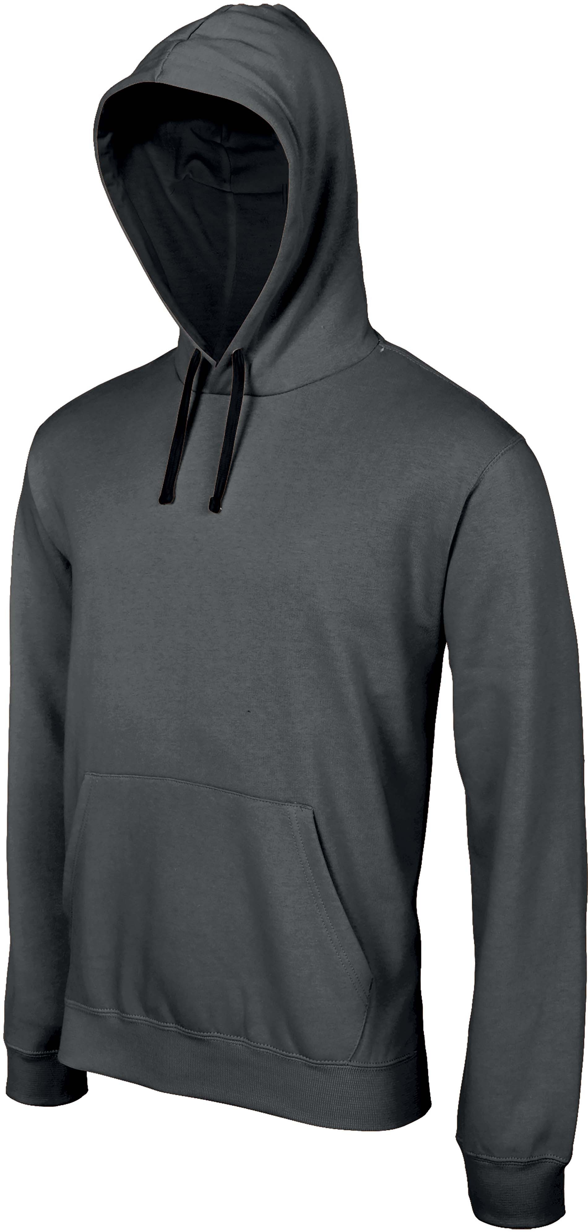 contrast capuchon hooded sweater