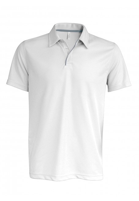 Kariban heren polo in lycra®