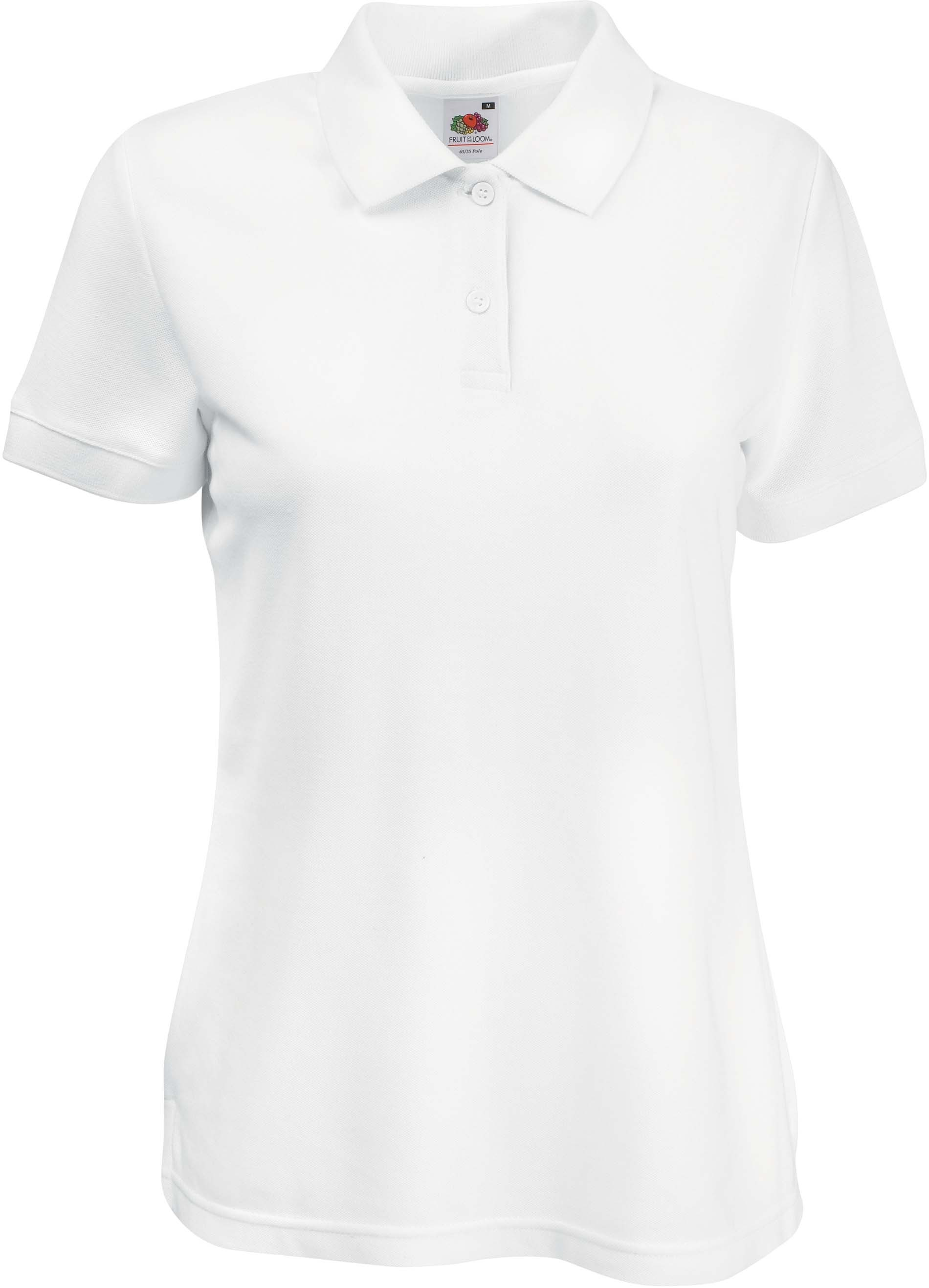 Slim fit dames polo