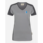 Contrast Performance V-Neck T-shirt