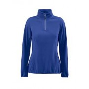 Printer microfleece jas dames