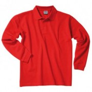 J&N Heavy long sleeved polo