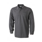 J&N polo piqué long sleeved