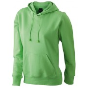 J&N Ladies` Hooded Sweat