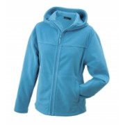 J&N Microfleece Jacket Hooded