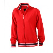 J&N ladies' baseball jacket