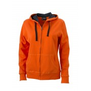 J&N ladies' hooded jacket