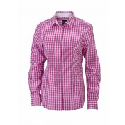 J&N ladies' checked shirt