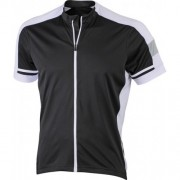J&N men's bike-T full zip