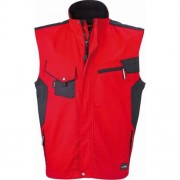 James & Nicholson workwear vest