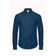 Vision denim men overhemd