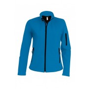 Kariban dames softshell jas