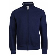 Kariban fleece jacket met rits