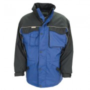 Result tweekleurige workguard parka