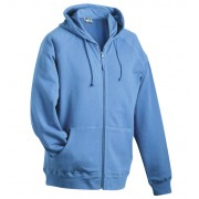 J&N men's hooded jacket