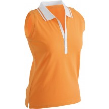 J&N dames Polo sleeveless