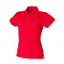 Henbury dames stretch piqué polo