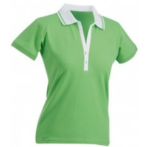 J&N dames polo Short-sleeved
